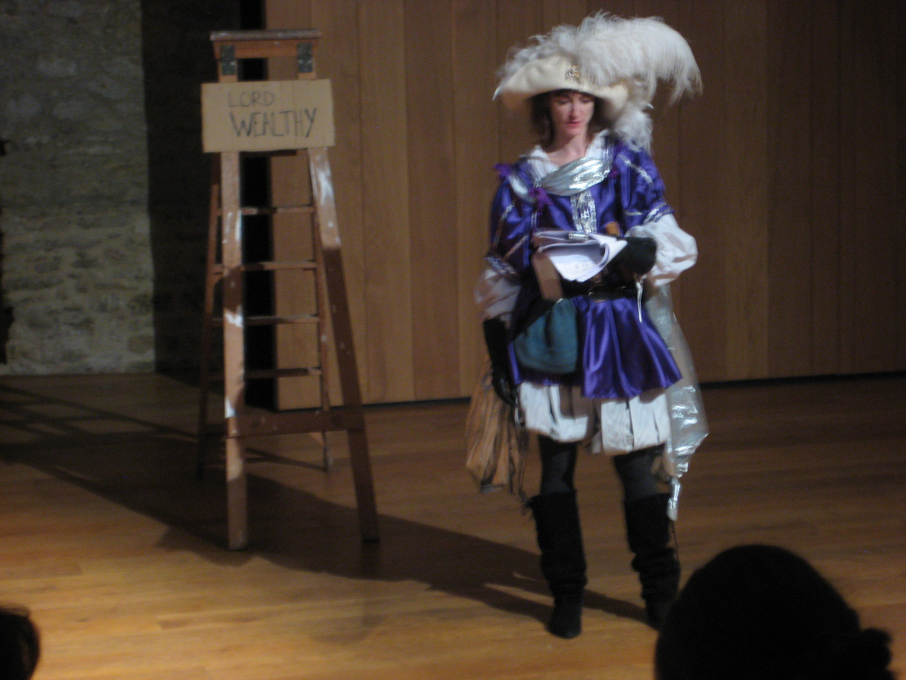 Kelley Costigan as Young Lord Wealthy